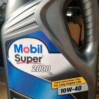 Oli Mobil 1 Super 2000 SAE 10W/40 Galon 4 liter
