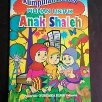 buku kumpulan hadist pilihan anak shaleh