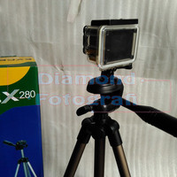 harga Tripod Gopro Action Cam Excell Ex 280 (bonus Mount/braket Gopro) Tokopedia.com