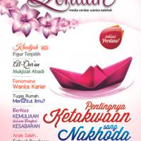 Majalah Qonitah Edisi 1, Media Cerdas Wanita Shalihah