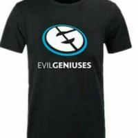 Kaos pria/Tshirt/T shirt Evil Geniuses (black)