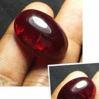 harga Batu Akik Merah Siam Pecah Seribu Crystal Tokopedia.com
