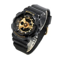 Casio Baby G BA-110-1ADR Black Rose Gold