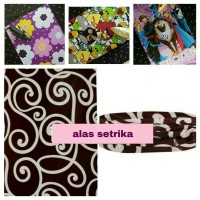 Alas Setrika / Busa Setrika / Kasur Portable / Kasur Kecil