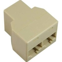 RJ45 Splitter 1x2 Ethernet LAN Divider Network Connector Adapter AC33