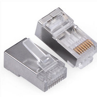 Konektor RJ45 Metal Shielded LAN Ethernet Network Connector AC28