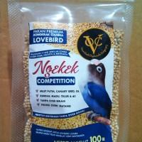 Pakan Premium Lovebird Ngekek Khusus Kompetisi Lomba Gantangan