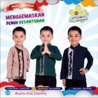 Baju Koko Anak Bahan Kaos Murah Little Mutif Men LM 11