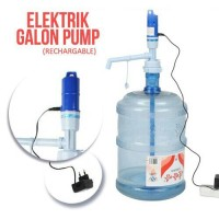 Jual POMPA GALON ELEKTRIK(ELECTRIC WATER PUMP) RECHARGEABLE Murah