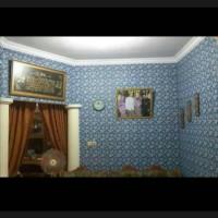 wallpaper dinding rumah murah motif batik kupu
