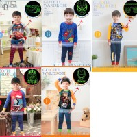 Gw Geloite Wardrobe 133 Pajamas Piyama Anak Kids Boys Cowok Sz 1-7t