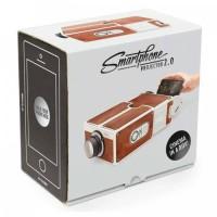harga Portable Cardboard Smartphone Projector 2.0 Tokopedia.com