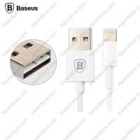 Baseus Fast Charging Lightning Cable 1m For IPhone 6/6 + / 6s / 6s + - White
