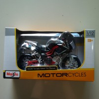 harga Benelli Tornado Naked Tre Titanium 1/12 Maisto Grey Motor Racing Tokopedia.com
