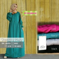 AGS Gamis Sheinchy Syari (Dress, Busana muslim wanita,Baju Muslimah)