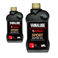 Oli Yamalube Sport 4T 10w40 motor yamaha 1 liter