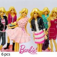 harga Miniatur Figure Barbie Fashion-Model-Modis-Cantik-Gaul-Anggun-6pcs Tokopedia.com