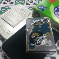 Zippo NFL Jaguars Rare 1997 (G XIII) New High Polish Chrome