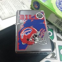 Zippo NFL Bills Rare 1997 (C XIII) New High Polish Chrome