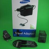 GARANSI Samsung Travel Adapter Charger USB Galaxy Tablet Tab 30 pin