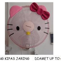SARUNG KIPAS JARING HELLO KITTY