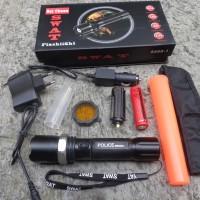 Senter Swat Police Kompas 8460-1 Original (Asli)