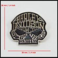 harga Lapel Pin Jaket Harley Davidson Willie G Skull Art Letter Tokopedia.com