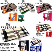 DOMPET WANITA MURAH CASUAL BURBERRY CLAY LIGHT KW