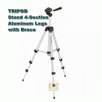 Tripod Weifeng Portable Stand 4-Section Aluminum Legs with Brace