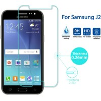 Tempered Glass Samsung Galaxy J2 Anti Gores Screen Guard Terbaik Mura