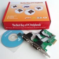 SERIAL 2 PORT PCI EXPRESS (RS232 2port 9p M)
