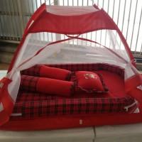 Jual Kasur Bayi/Tenda kelambu/Bantal guling/Matras Bayi Murah