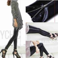 Cv552 legging latex zipper