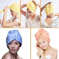 harga Handuk Keramas Hair Wrap Magic Towel ( As Seen On Tv ) Tokopedia.com
