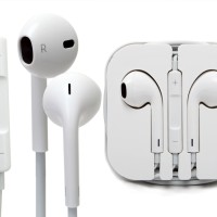 harga Headset / Earphone / Handsfree Iphone 5 6 Murah Warna Putih Tokopedia.com