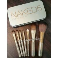 NAKED makeup brush set isi 7pcs