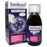 Sambucol Black Elderberry For Kids USA (120ml) 2-12Thn / Immune System