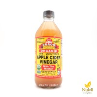 harga Bragg Organic Raw Unfiltered Apple Cider Vinegar | Cuka Apel 473ml Tokopedia.com