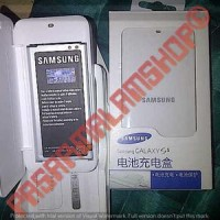 extra battery kit / baterai + desktop charger samsung galaxy s5 sv i96