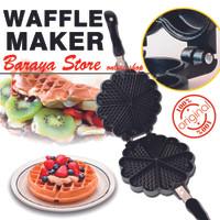 Jual Cetakan kue Waffle wafle maker pembuat kue wafle Murah