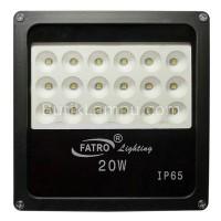 Lampu Led Sorot 20W Outdoor SMD - Flood Light LED Kuning