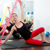 Yoga Elastic Band / Resistance Band Pilates TERMURAH Grosir [HOT VIDEO
