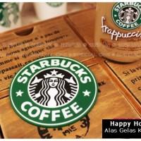 harga Alas Gelas / Tatakan Cangkir Motif Starbucks Tokopedia.com
