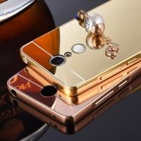 Aluminium Tempered Glass Hard Case Casing Cover Hp Xiaomi Redmi Note 3