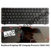 Keyboard laptop HP Compaq Presario CQ42 G42