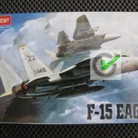 harga Model Kit / Mokit Academy - Pesawat F15 Strike Eagle Tokopedia.com
