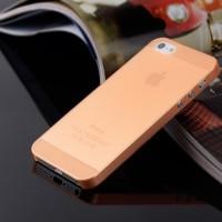 Case Cover Orange For Iphone 5/5 S