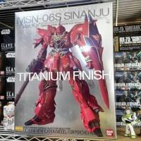 Bandai MG 1/100 Sinanju Titanium Finish