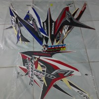 Striping/Sticker Motor Vario 125 Techno F1 2014