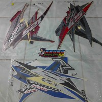 Striping/Sticker Motor Vario 125 Techno F1 Helm In 2013